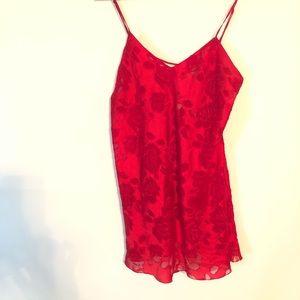 Victoria's Secret Women's Red Lingerie Size L